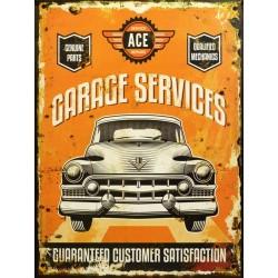 Tablou vintage cu service auto nr 2