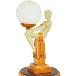 Femeie din alabastru-lampa de masa
