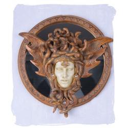 Oglinda Art Nouveaux cu un cap de femeie