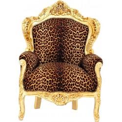 Fotoliu leopard monumental